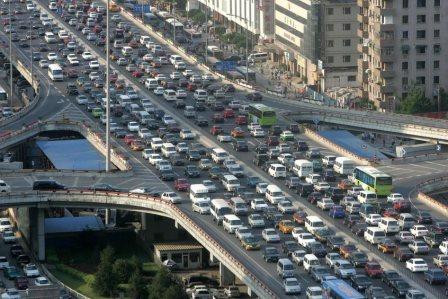 دانلود پاورپوینت اصول مهندسی ترافيک شهری