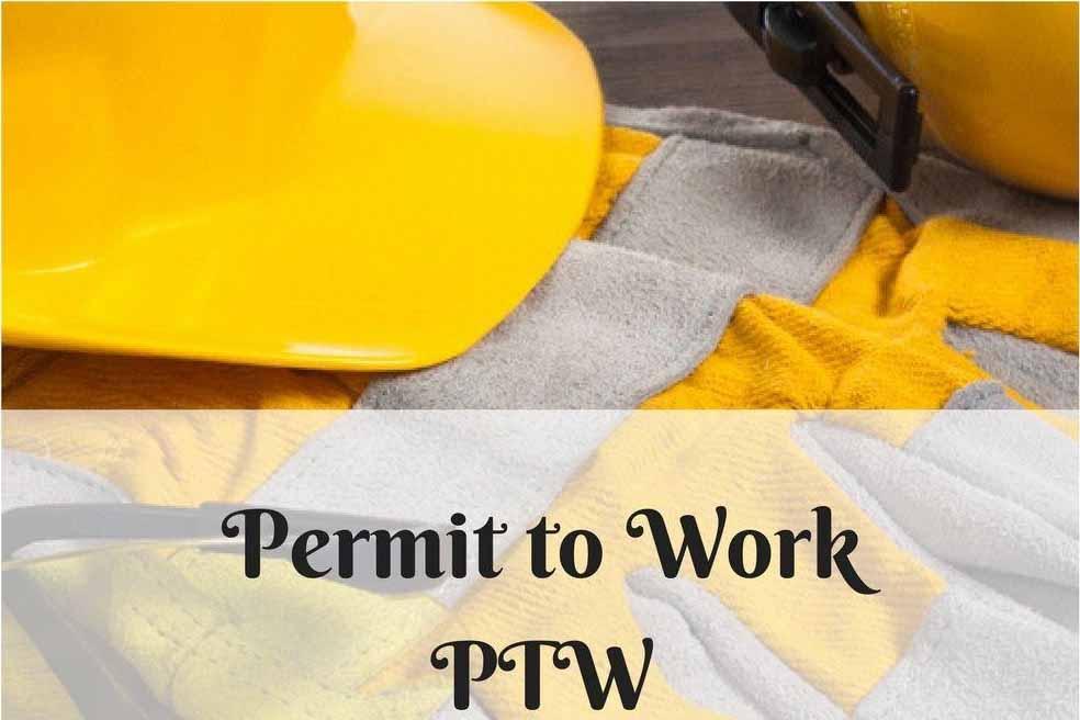 دانلود پاورپوینت مروری بر سیستم مجوز انجام کار(PTW System)
