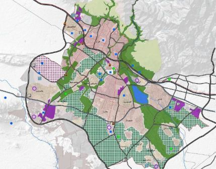 دانلود خلاصه گزارش برنامه راهبردی و طرح ساختاری(جامع) شهر كرج