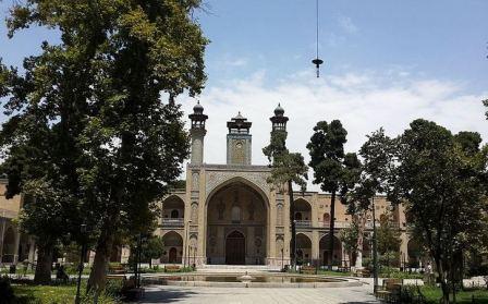دانلود پروژه مرمت مسجد و مدرسه سپهسالار(شهید مطهری)
