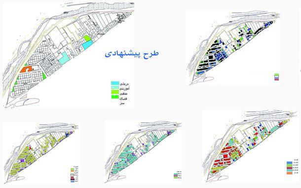 دانلود پروژه برنامهریزی کالبدی کوی آزادی(شهرستان تفت)