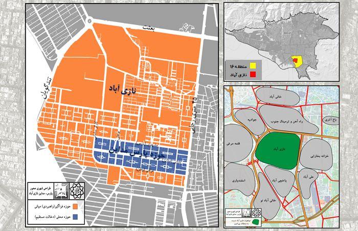 دانلود پروژه طراحی شهری محور پارس- مدائن نازی آباد