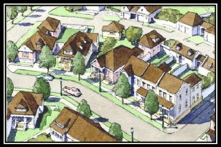 دانلود پاورپوینت توسعه محلات نوسنتی(TND)