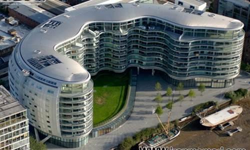 دانلود پروژه طرح معماری 5 با موضوع مجتمع مسکونی ALBION