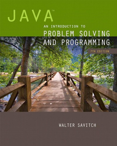 دانود كتاب Java: An Introduction to Problem Solving and Programming