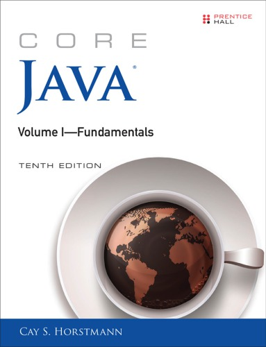 دانود كتاب 	Core Java Volume I--Fundamentals