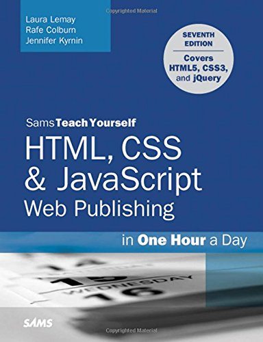 دانود كتاب HTML, CSS & JavaScript Web Publishing in One Hour a Day