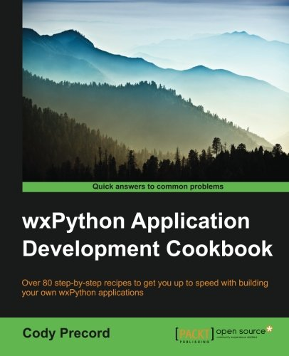 دانود كتاب WxPython Application Development Cookbook