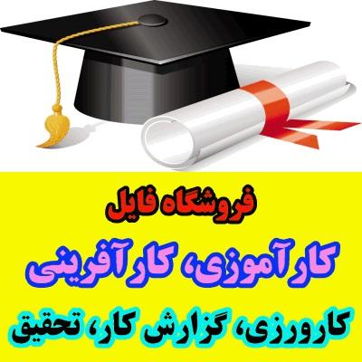 گزارش کارآموزی رشته مهندسی پلیمر – علوم رنگ، شرکت آریا سطح تهران، ساخت کف پوش های پلیمری