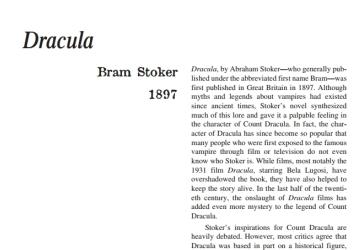 نَقدِ رُمانِ Dracula by Bram Stoker