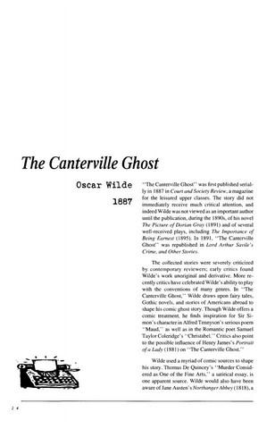 نقد داستان کوتاه   The Canterville Ghost  by Oscar Wilde