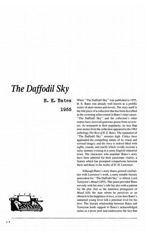 نقد داستان کوتاه   The Daffodil Sky  by H.E. Bates