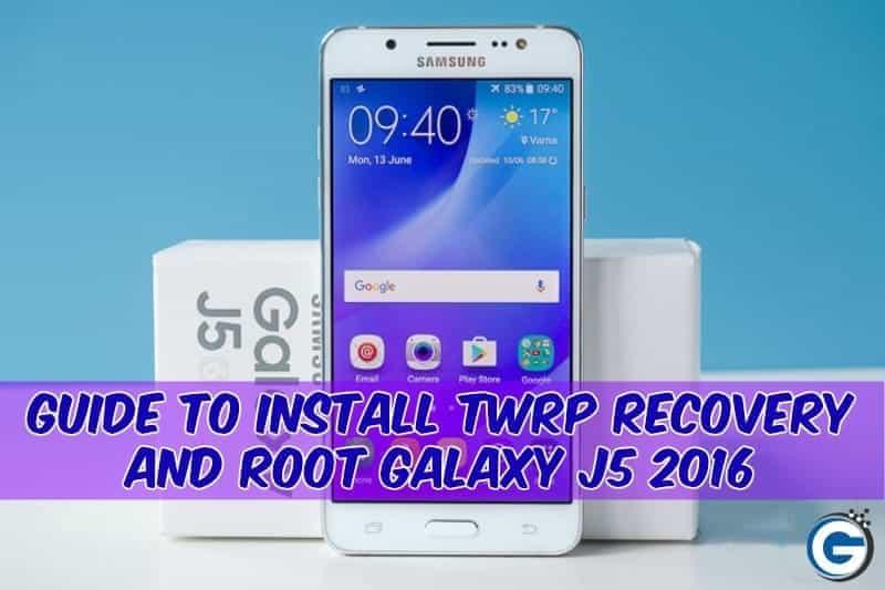 روت گوشی Samsung J5 2016 SM-J510F با اندروید 6.0.1