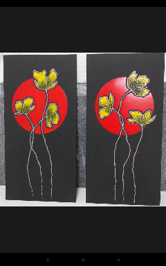 تابلوی گل
