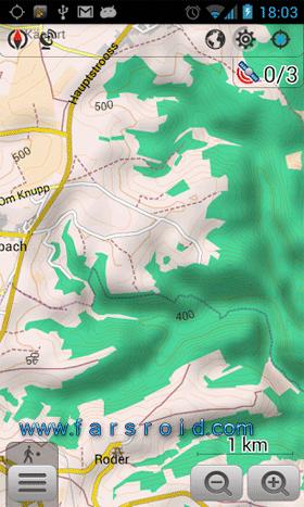 نرم افزار GPS آفلاین بدون نیاز به اینترنت به همراه نقشه سراسر دنیا
