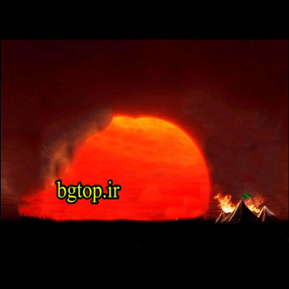 پس زمینه محرم3 - آتش و خیمه