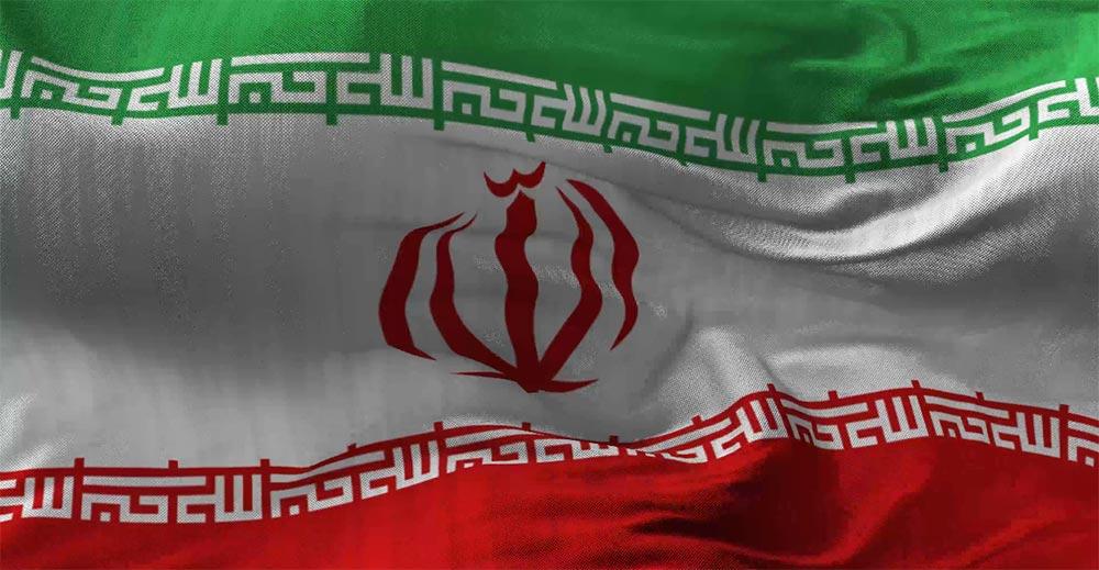 کلیپ پرچم متحرک ایران با کیفیت 4k
