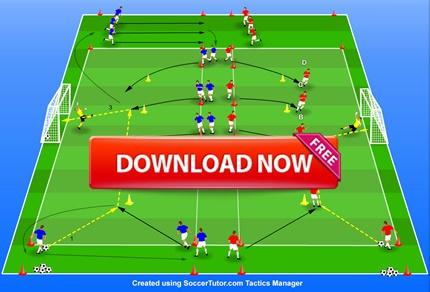 آموزش کامل و نمونه تمرینات SAQ در فوتبال