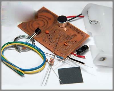 آموزش ساخت مدار تقویت آنتن