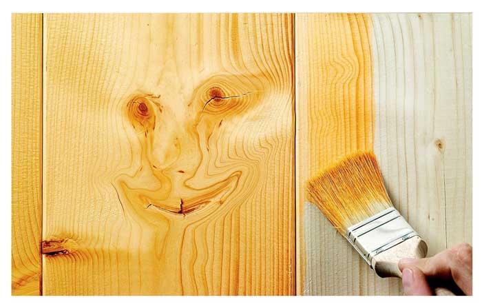 اصول کامل رنگ کاری چوب
