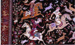 سير تحول هنر قاليبافي از اوايل دوره اسلامي تا عهد صفوي