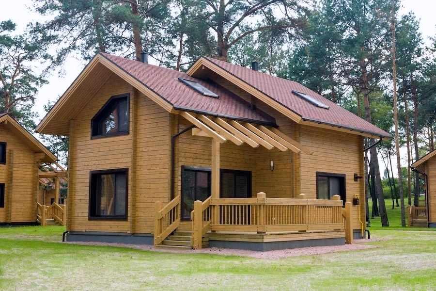 کاملترین مجموعه کلبه های چوبی