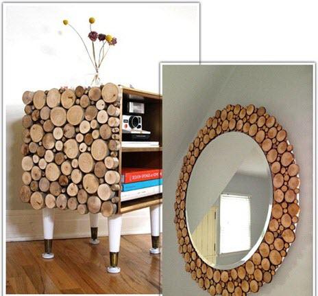 مجموعه کارهای خلاقانه با چوب