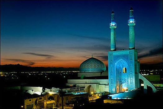 معماری مارکت (مسجد جامع یزد)