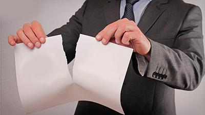 جبران خسارات ناشي از نقض قرارداد