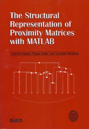 دانلود كتاب The structural representation of proximity matrices with MATLAB