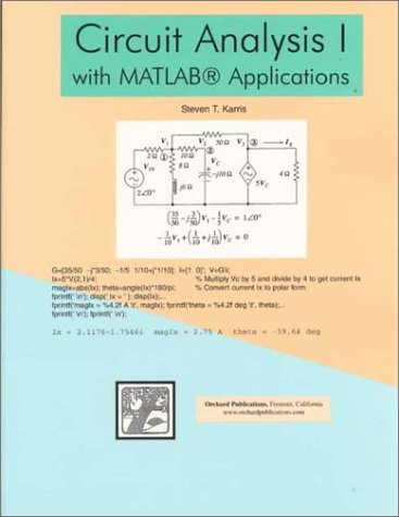 Circuit Analysis I with MATLAB Applications