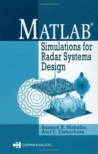 MATLAB simulations for radar systems design