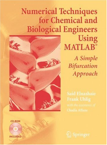 Numerical Techniques for Chemical and Biological Engineers Using MATLAB