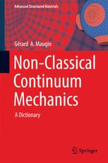 Non-Classical Continuum Mechanics: A Dictionary