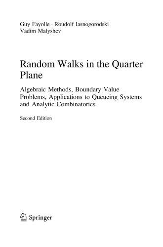 Random Walks in the Quarter Plane