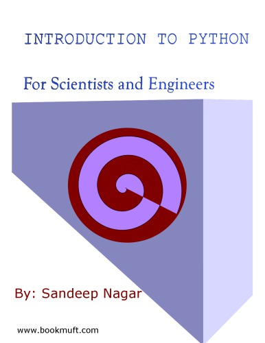 Introduction to Python - For Scientists and Engineers