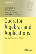 Operator Algebras and Applications: The Abel Symposium 2015