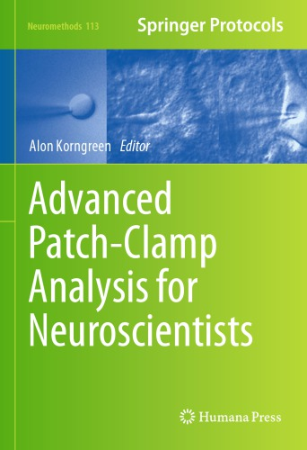 Advanced Patch-Clamp Analysis for Neuroscientists