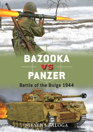 Bazooka vs Panzer. Battle of the Bulge 1944
