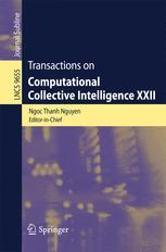 Transactions on Computational Collective Intelligence XXII