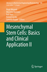 Mesenchymal Stem Cells - Basics and Clinical Application II