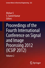 Proceedings of the Fourth International Conference on Signal and Image Processing 2012 (ICSIP 2012): Volume 2