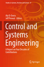 Control and Systems Engineering: A Report on Four Decades of Contributions
