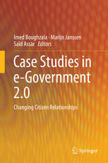 Case Studies in e-Government 2.0: Changing Citizen Relationships