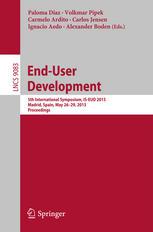 End-User Development: 5th International Symposium, IS-EUD 2015, Madrid, Spain, May 26-29, 2015. Proceedings