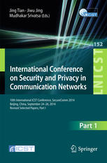 International Conference on Security and Privacy in Communication Networks: 10th International ICST Conference, SecureComm 2014, Beijing, China, Septe