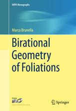 Birational Geometry of Foliations