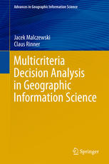 multicriteria decision analysis in geog hic information science