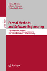 Formal Methods and Software Engineering: 17th International Conference on Formal Engineering Methods, ICFEM 2015, Paris, France, November 3-5, 2015, P