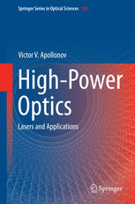 high-power optics: lasers and applications